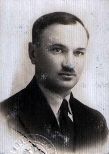 Marian Plewako (1904-1972), zdjęcie legitymacyjne z 1935 r.